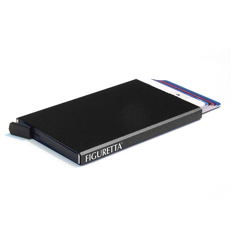 Compacte, veilige en overzichtelijke kaarthouder met slide-systeem