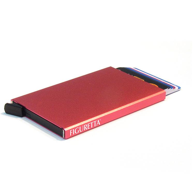 Compacte, veilige en overzichtelijke pashouder met slide-systeem