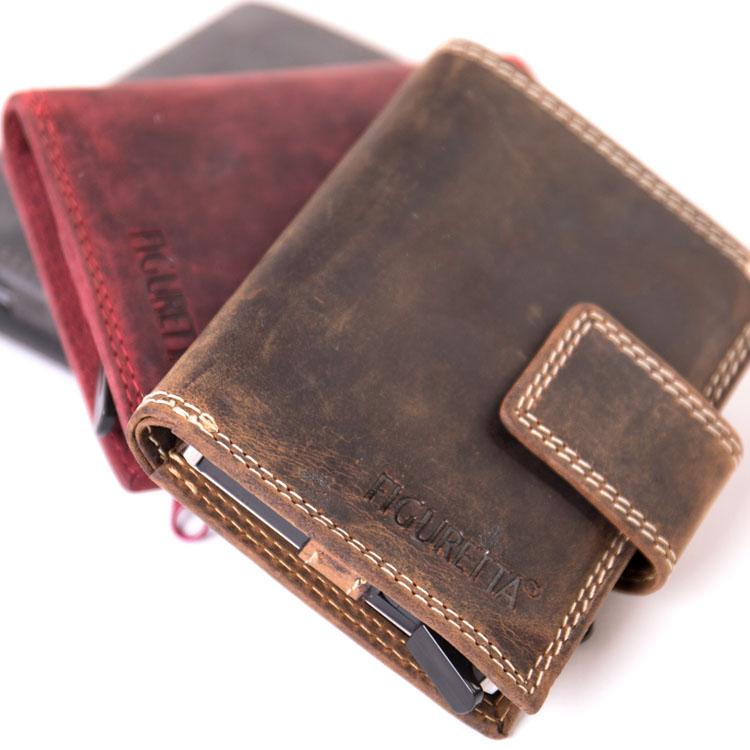 Figuretta RFID Pull Up + muntgeld Cardprotectors