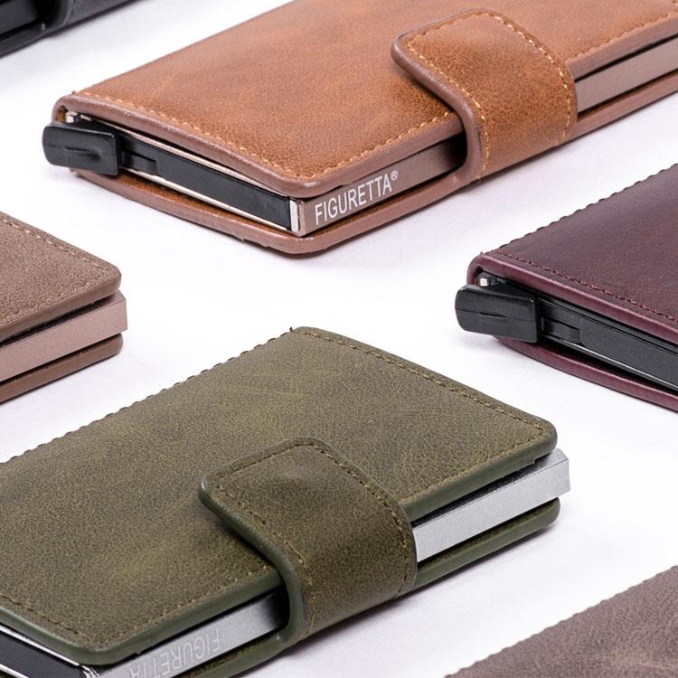 Figuretta RFID PU-Leather Cardprotectors